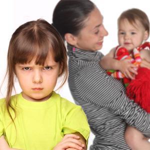 Почему возникает детская ревность
