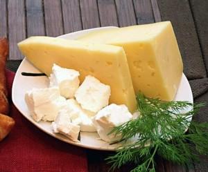Очень вкусная диета с сыром