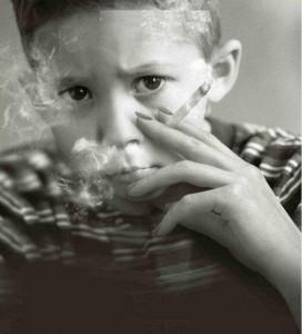Ребенок курит – это плохо