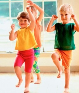 Основные моменты детской походки