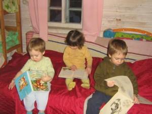 Домашний детский сад как метод воспитания