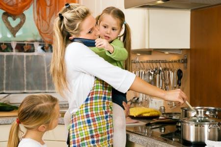 Ребенок и домашние обязанности