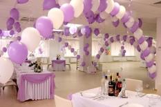 шарики свадьба