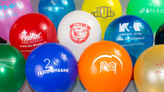 шары брендированные